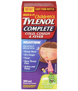 Children's Tylenol Complete Cold, Cough & Fever Nighttime Suspension Liquid