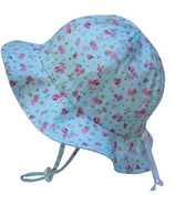 Twinklebelle Grow-With-Me Baby Sun Hat Retro Rose