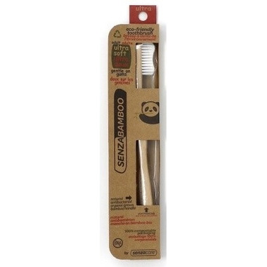 Senzacare Bamboo Toothbrush Ultra-Soft Adult