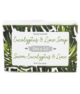 Dot & Lil Eucalyptus & Lime Bar Soap