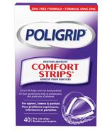 Poligrip Comfort Strips Denture Adhesive