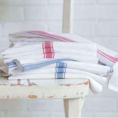 Now Designs Brooklyn Stripe Dish Towel Set Delft