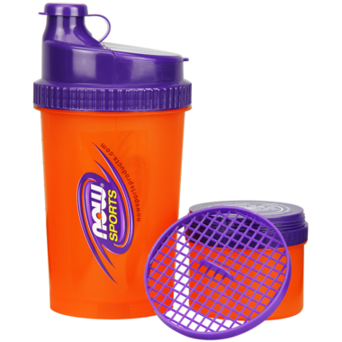 NOW Sports 3-in-1 Sports Shaker Bottle