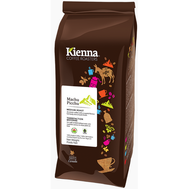 Kienna Coffee Roasters Machu Picchu Whole Bean Coffee