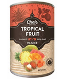 Cha's Organics Tropical Fruit In Juice
