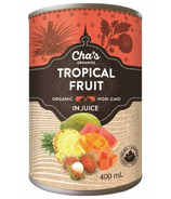 Cha's Organics Tropical Fruit In Juice