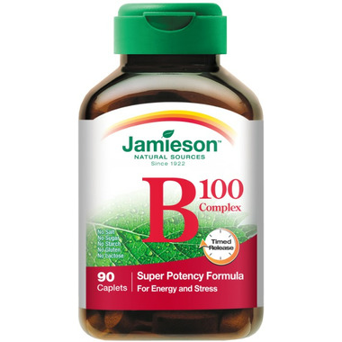 Jamieson Vitamin B 100 Complex Time Released