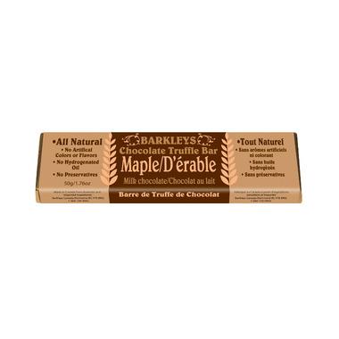 Barkley\'s All Natural Maple Chocolate Truffle Bar