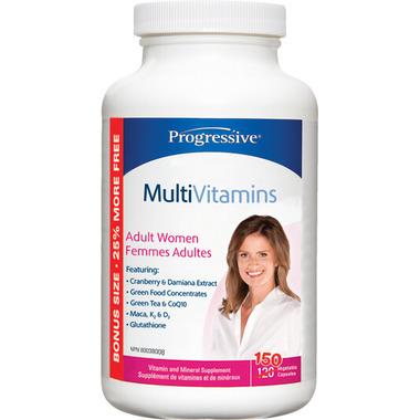 Progressive MultiVitamins for Adult Women Bonus Size