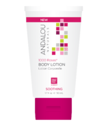 ANDALOU naturals 1000 Roses Soothing Body Lotion Travel Size
