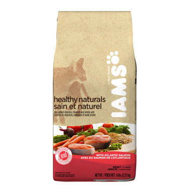 Iams Cat Healthy Naturals Adult With Atlantic Salmon