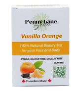 Penny Lane Organics 100% Natural Beauty Bar Vanilla Orange