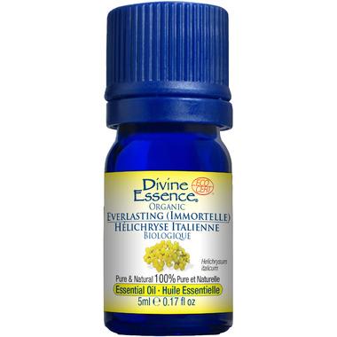Divine Essence Everlasting (Immortelle) Organic Essential Oil