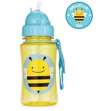 Skip Hop Zoo Straw Bottle Bee