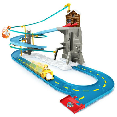 Paw Patrol Rubbles Mountain Rescue Track Set