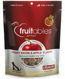 Fruitables Crunch Dog Treats Crispy Bacon & Apple
