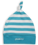 Juddlies Newborn Cap Scuba Blue Stripe