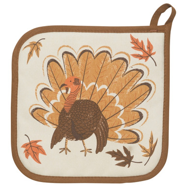 Now Designs Pot Holder County Turkey