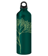 Gaiam Twig Aluminum Water Bottle Green