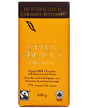 Green & Black's Organic Milk Chocolate Butterscotch Bar