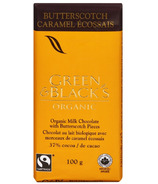 Green & Black's Organic Milk Chocolate Butterscotch Bar
