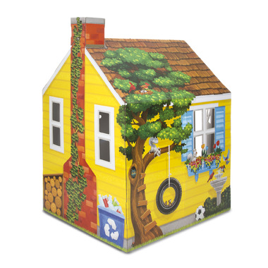 Melissa & Doug Cardboard Structure Cottage
