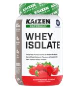 Kaizen Naturals Whey Isolate Protein Strawberries & Cream