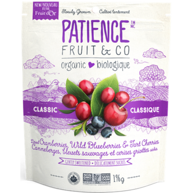Patience Fruit & Co. Organic Dried Fruit Mixed Berries