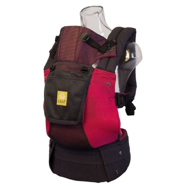 Lillebaby Complete Airflow Charcoal & Berry Baby Carrier