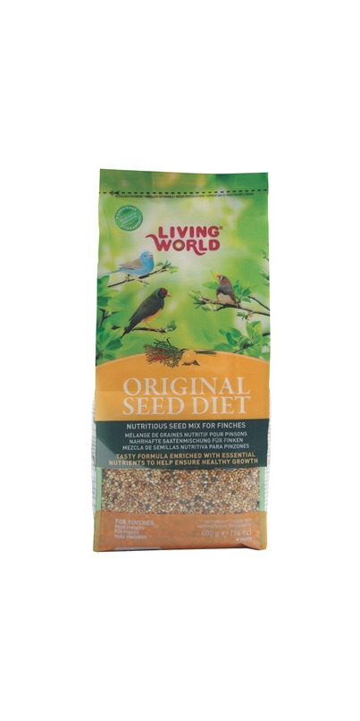 Buy Living World Original Seed Diet For Finches At: where can i buy slimming world products