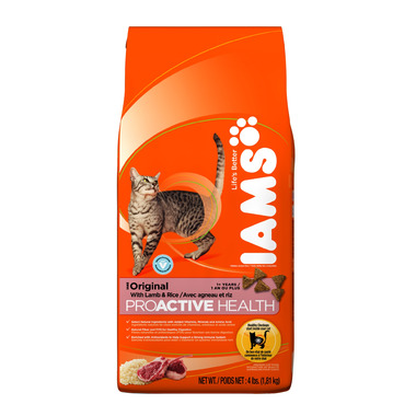 Iams Cat ProActive Health Adult Original With Lamb & Rice