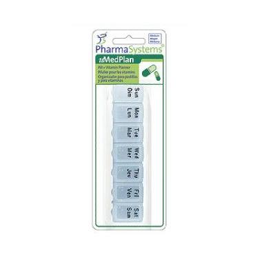 PharmaSystems Medium Pill & Vitamin Planner