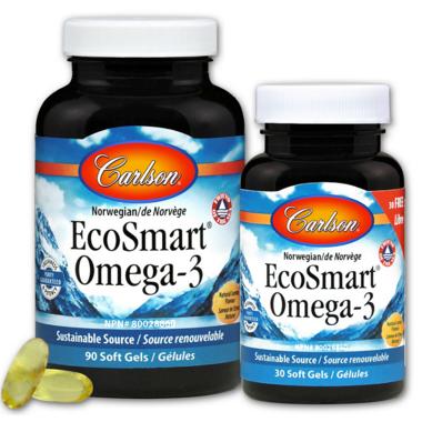 Carlson EcoSmart Omega-3 Bonus pack