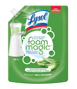 Lysol Foam Magic Antibacterial No Touch Hand Wash System Refill