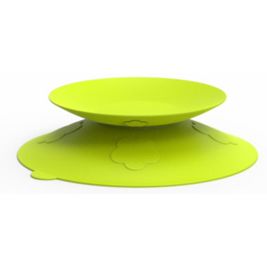 Kidsme Stay-in-place Placemat Lime