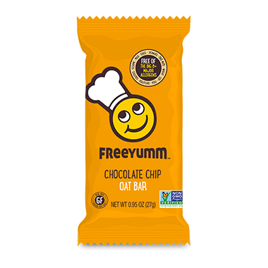 FreeYumm Chocolate Chip Oat Bars