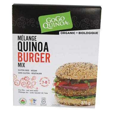 GoGo Organic Quinoa Burger