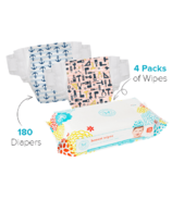 The Honest Company Honest Size 4 Diapers & Wipes Bundle
