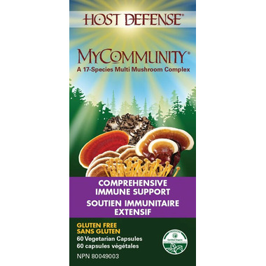 Host Defense MyCommunity Capsules