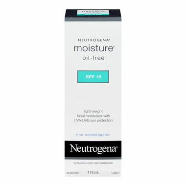 Neutrogena Moisture Oil Free SPF 15 Facial Moisturizer