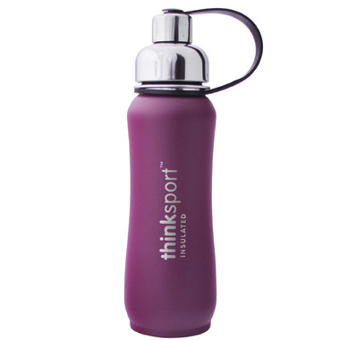 Thinksport Stainless Steel Insulated Water Bottle Purple