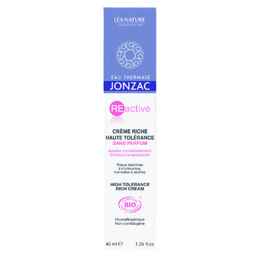 Jonzac High Tolerance Rich Cream