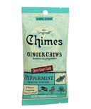 Chimes Peppermint Ginger Chews Small Pouch