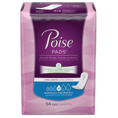 Poise Pads Long