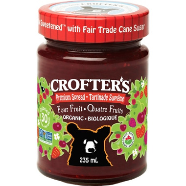 Crofter\'s Organic Four Fruit Premium Spread