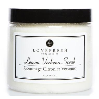 Buy Lovefresh Lemon Verbena Sugar Scrub At Well Ca Free