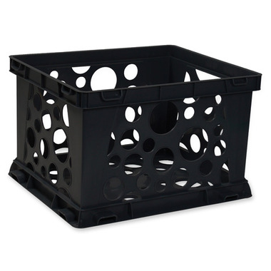 Storex Portable File Crate