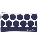 Lunchskins Navy Dot Small Zip Bag
