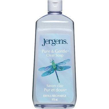 Jergens Pure & Gentle Clear Hand Soap Refill