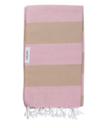 Lualoha Turkish Towel Buddhaful Powder Pink & Sand